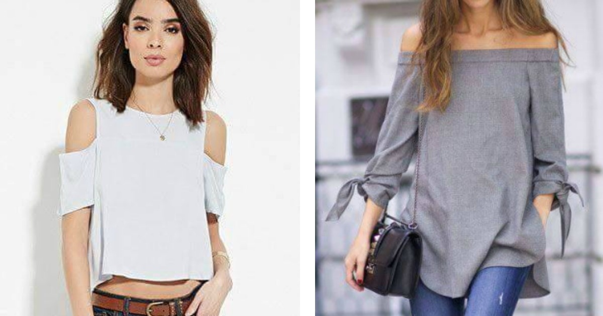Innovadores diseños de blusa para este 2017