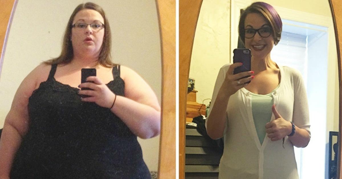12 Increíbles antes y después de personas que bajaron mucho de peso