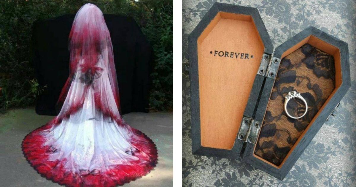 Haz tu boda ultra original, al estilo gótico...