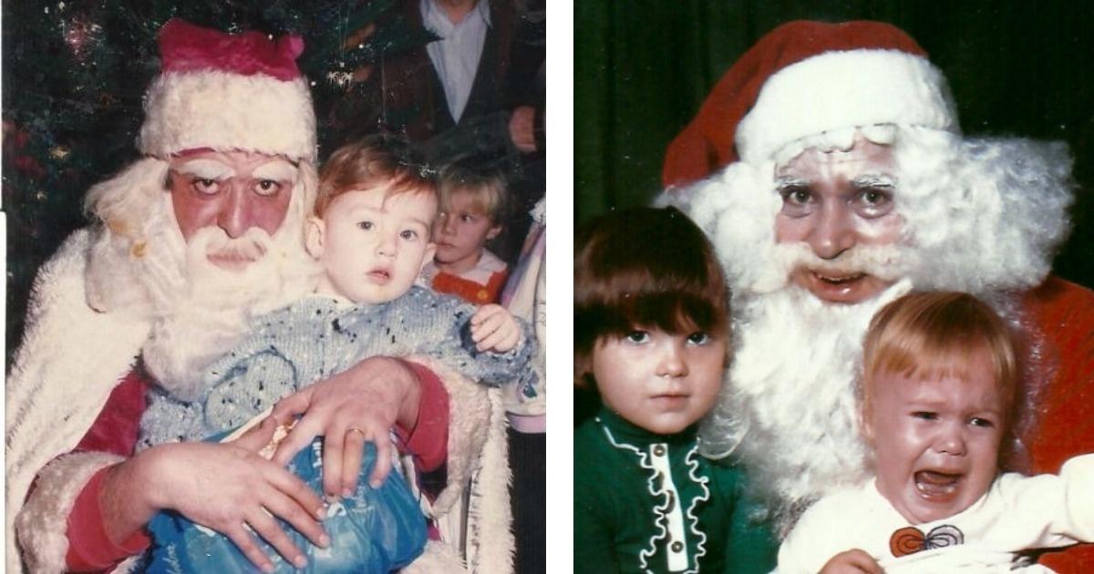 12 Espantosas fotos de Santa Claus que parecen obras del demonio