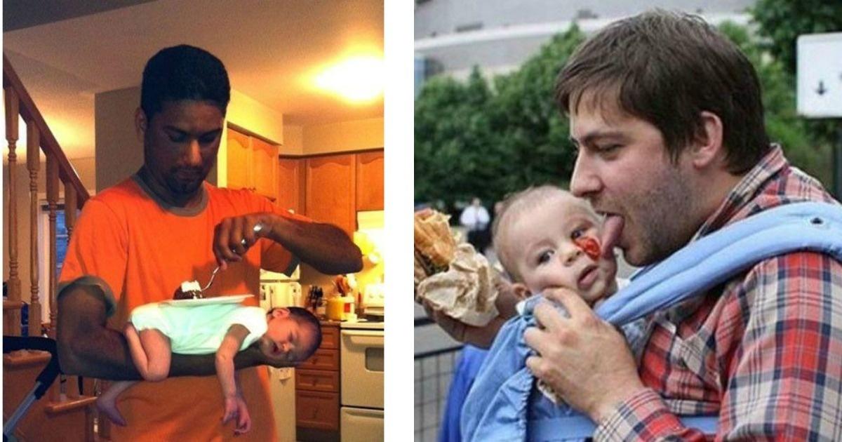 7 papás que en realidad no son tan padres... ¿O sí?