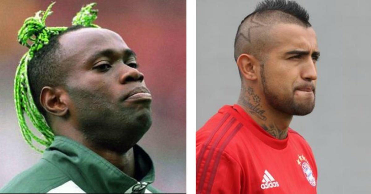 10 Futbolistas que tienen los cortes de cabello más ridículos del mundo