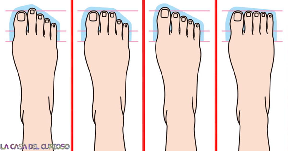 ¡Dime como son tus pies y te diré como eres!
