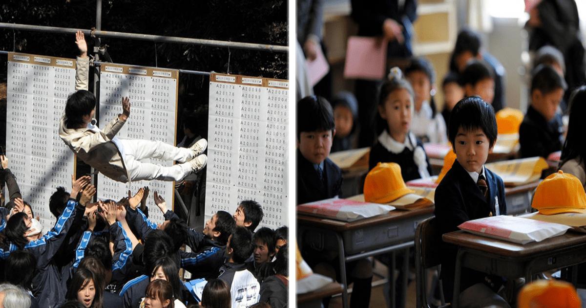 10 Datos interesantes sobre la educación académica en Japón.