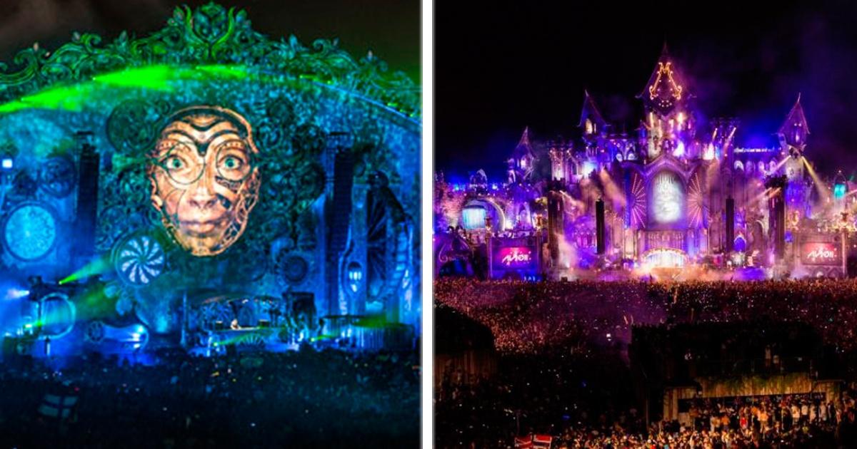 11 escenarios impresionantes en 10 años de historia de Tomorrowland. Amo el #10