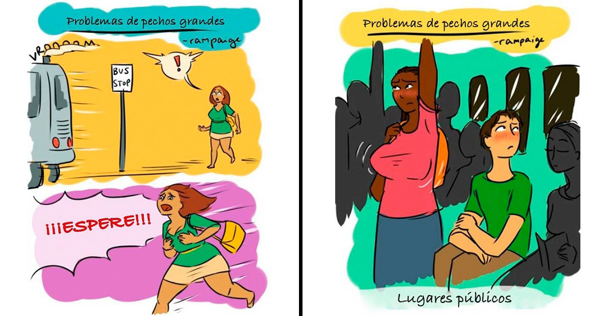 11 situaciones que las mujeres de pechos grandes viven cada día ¡La #5 es bastante común!