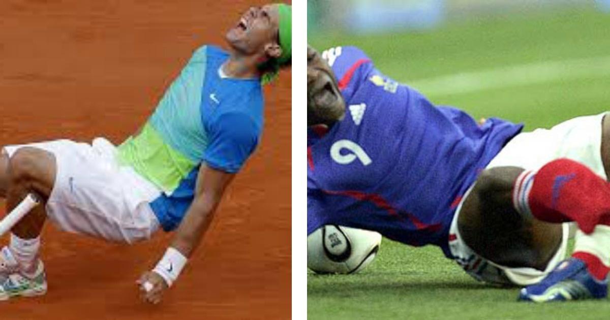 10 espantosas lesiones a exitosos deportistas. Ouch con el #8