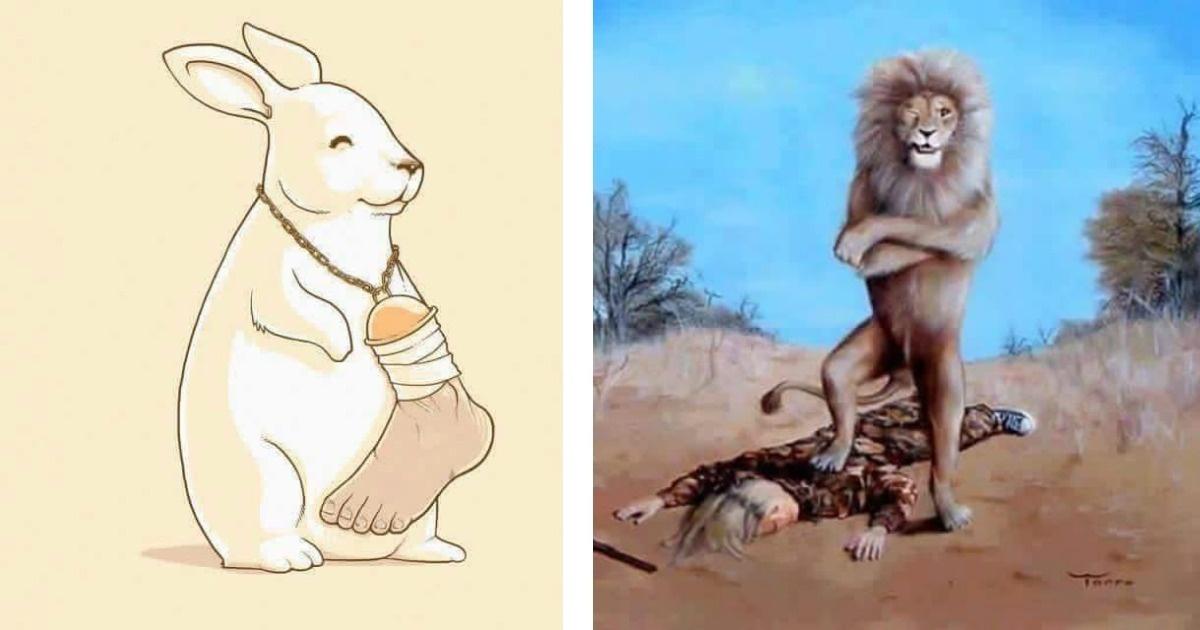 10 imágenes que demuestran lo cruel que somos con los animalitos...