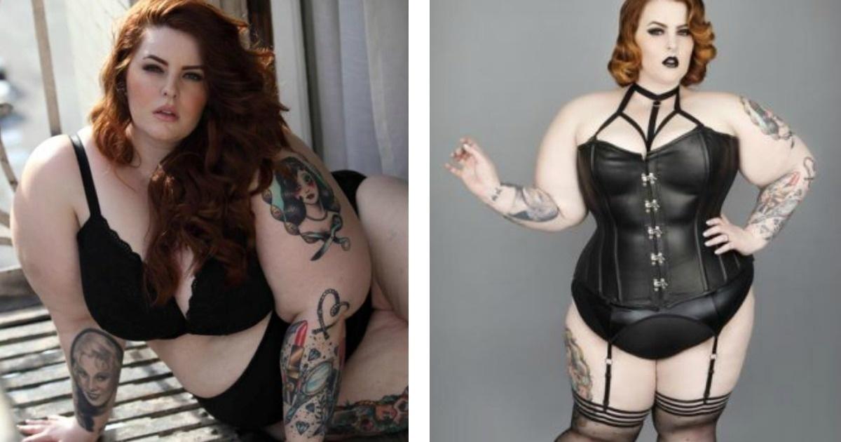 11 Fotos de la modelo de 113 kilos que posó en ropa interior. No más estereotipos