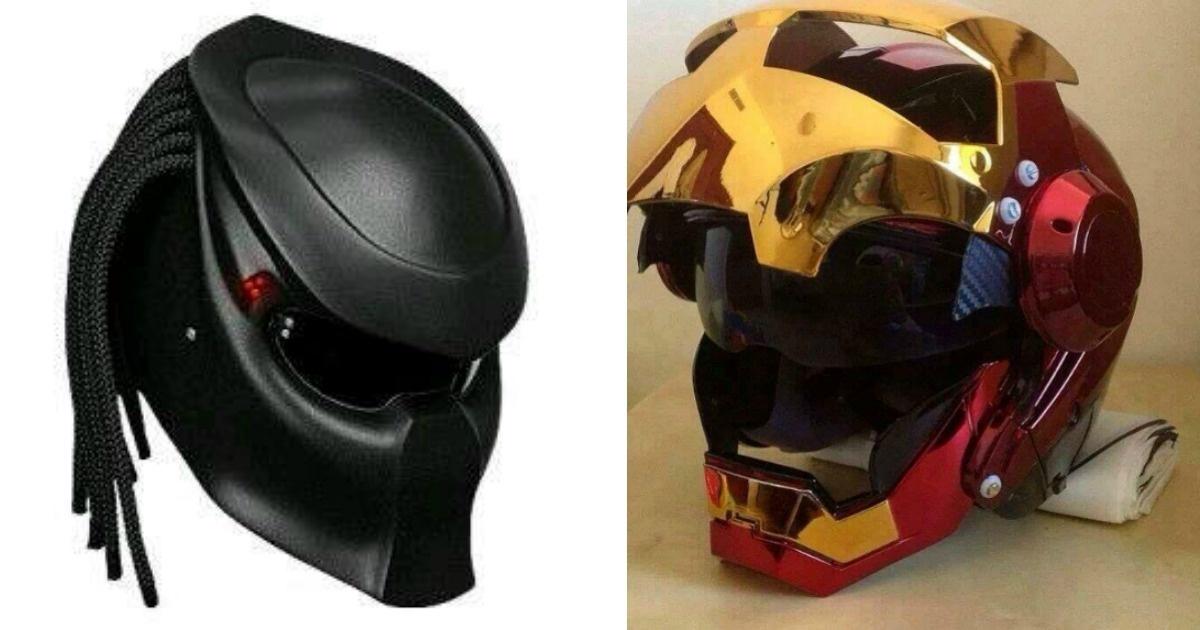 Los #10 asombrosos cascos para motociclistas. Quiero el #7