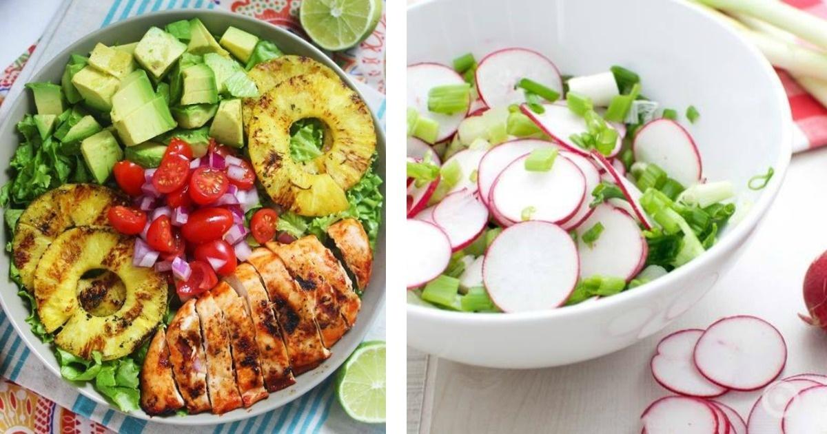 Es hora de que cuides tu salud 11 deliciosas recetas de ensaladas.
