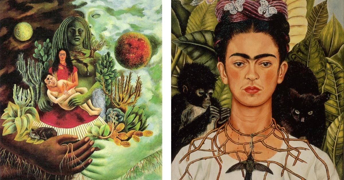 Conoce 8 alucinantes pinturas y frases de Frida Kahlo