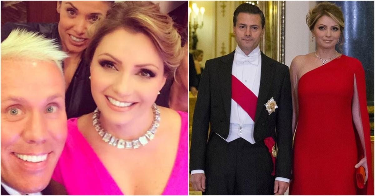 Así es la lujosa vida de Angélica Rivera, la esposa de Enrique Peña Nieto