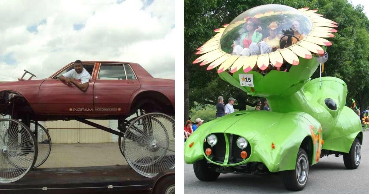 10 autos que van de lo extraño a lo WTF!