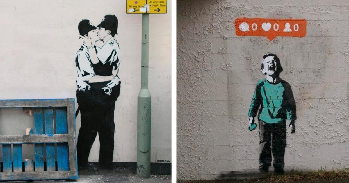 10 obras  de Banksy que retratan nuestra realidad...