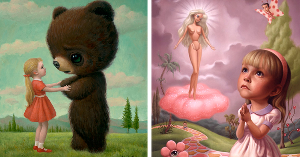 10 Pinturas de Mark Ryden que te van a alucinar ¡La #8 es una joya!