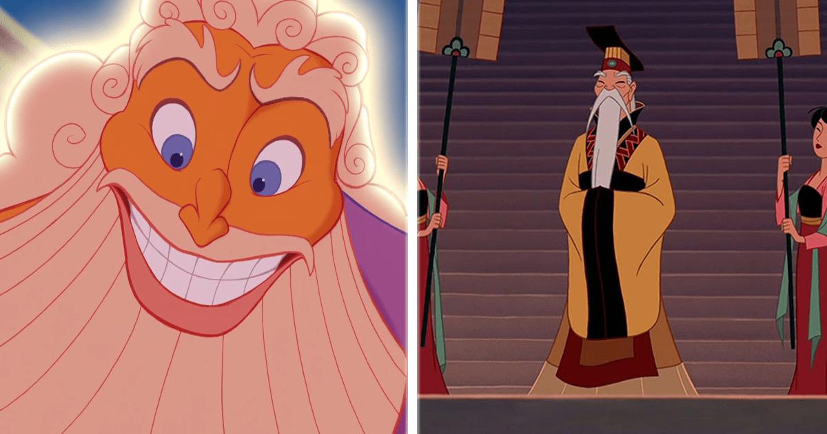 ¡Las 10 barbas y bigotes más cool e icónicas de Disney!
