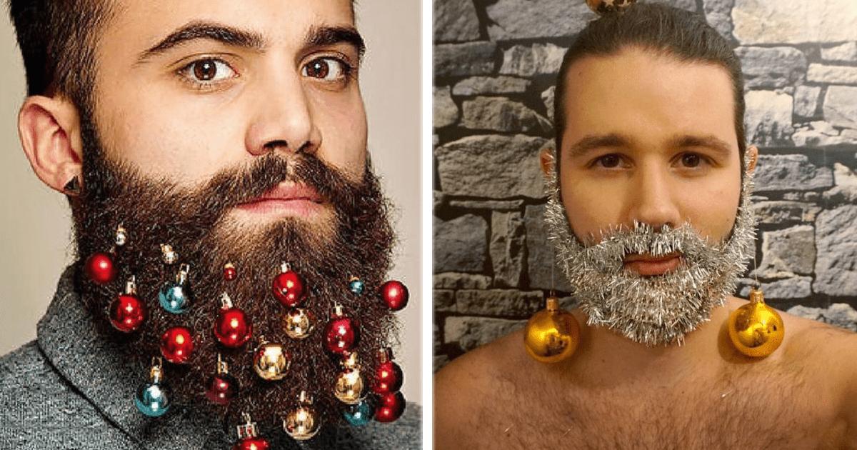 ¡Llegaron las fiestas decembrinas y también las barbas Navideñas!