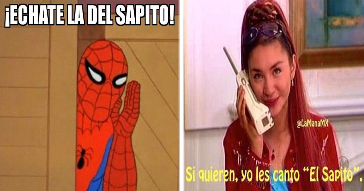 Los 13 memes más graciosos de Lady Sapito. ¡Que la cante!
