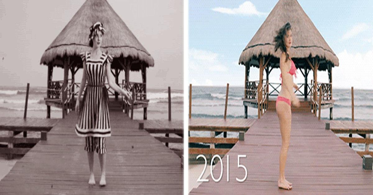 ¡Mira cómo ha evolucionado el bikini a través de los años!