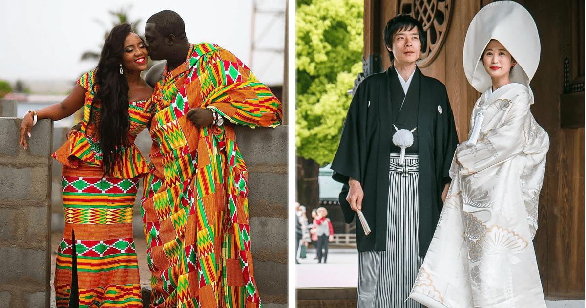 Así lucen los trajes tradicionales de boda en 15 países alrededor del mundo.