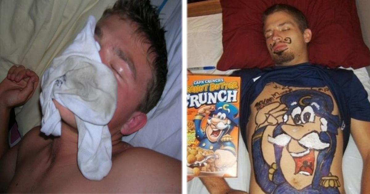 ¡Aguas si te quedas dormido porque podrían hacerte una de estas 11 bromas!