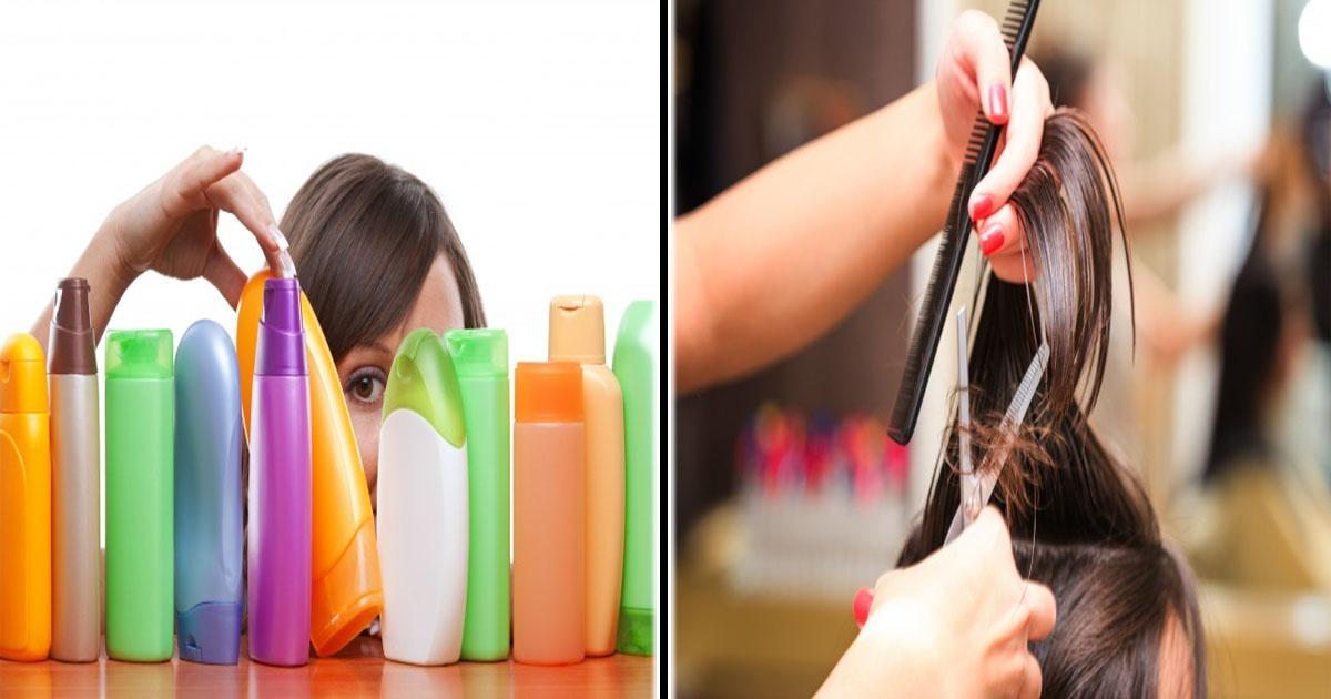¡15 Cosas que debes evitar si quieres tener un cabello saludable!
