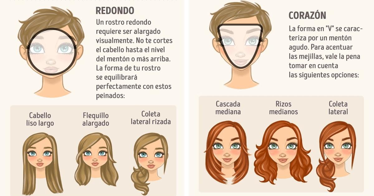 Conoce el corte de cabello que más te favorece según la forma de tu cara.