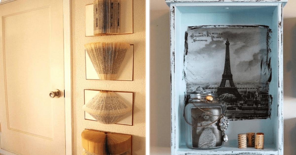 12 Ideas originales y creativas para remodelar todos los espacios de tu casa.