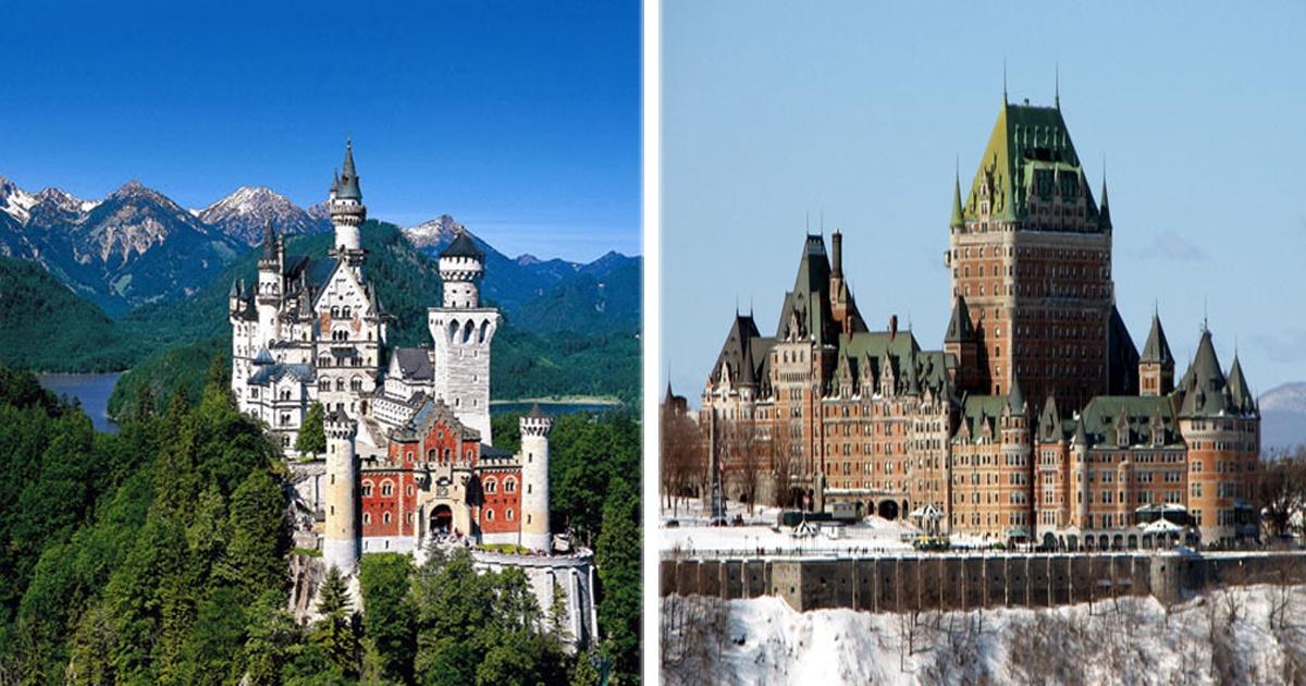 Los 15 castillos más impresionantes de TODO el mundo.