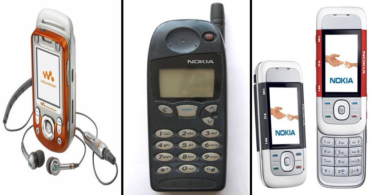 ¡12 Teléfonos celulares que marcaron nuestra infancia!