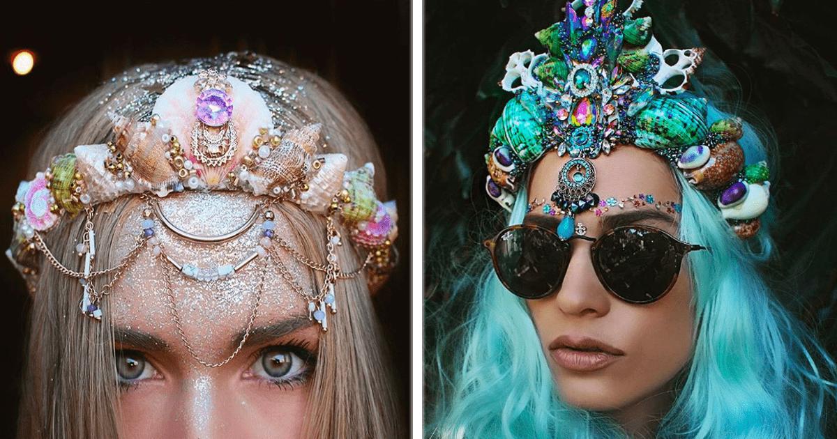 La nueva tendencia: Coronas de sirena. ¡Pruébalas!