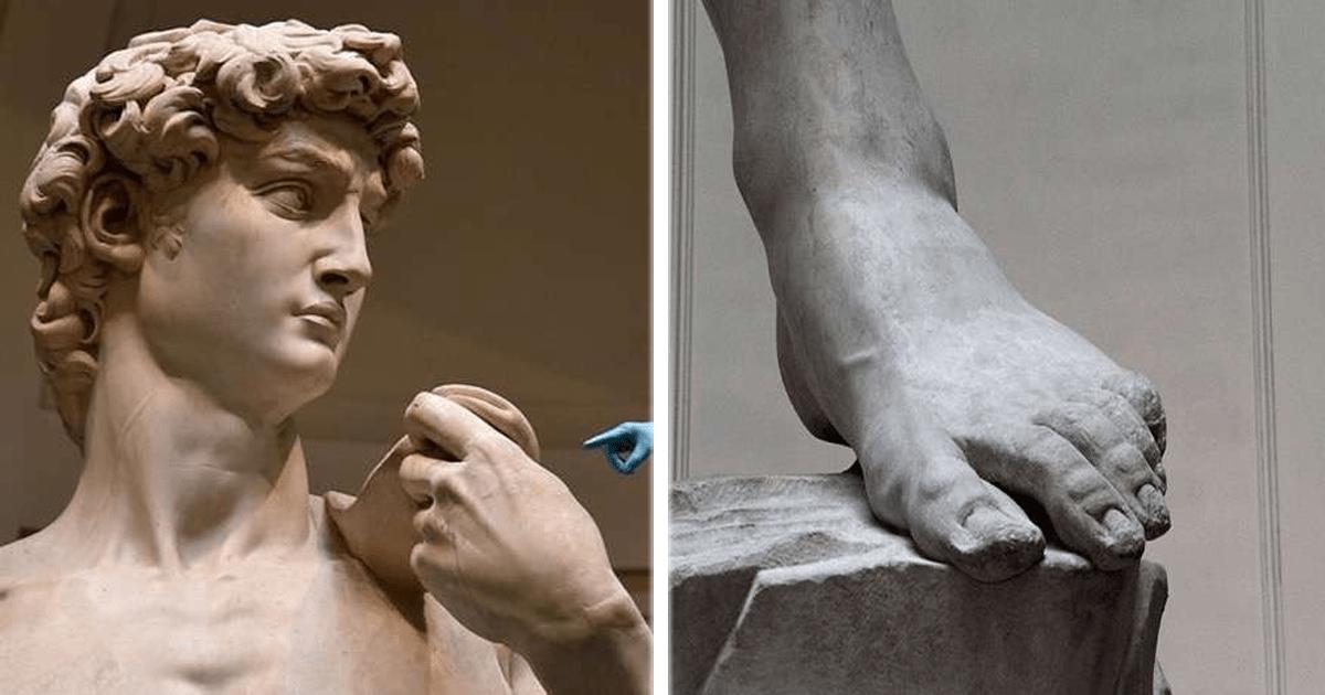 8 Increíbles imágenes del David de Miguel Ángel.