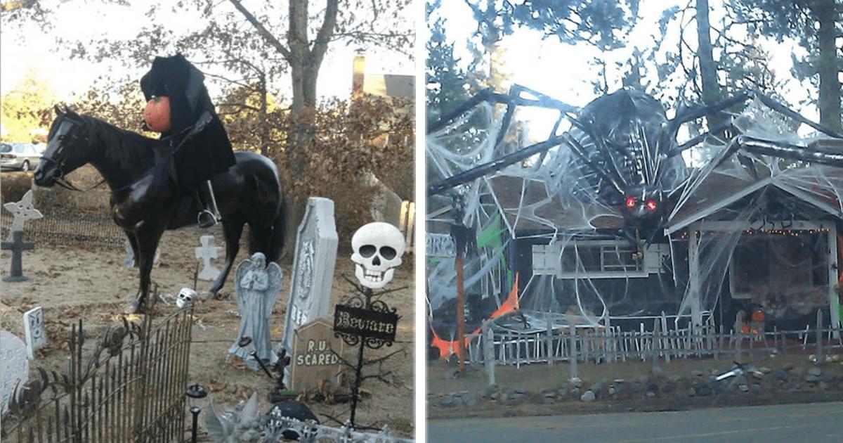 13 Aterradoras ideas para decorar tu casa para este Halloween.