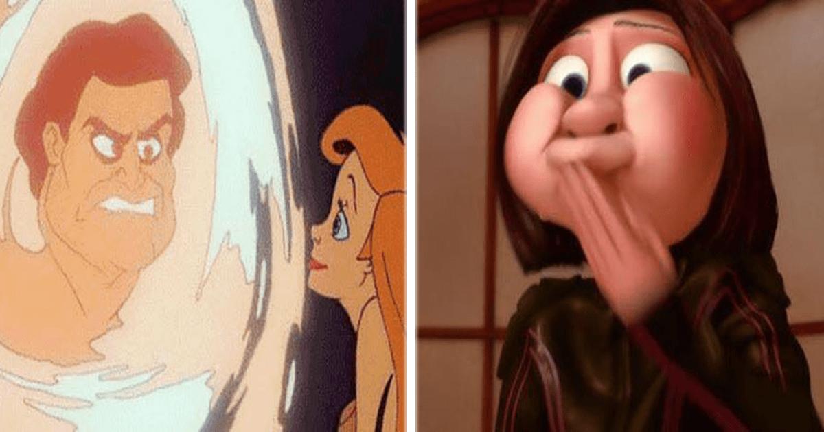 13 Imágenes graciosas de lo que sucede cuando pausas una película Disney.