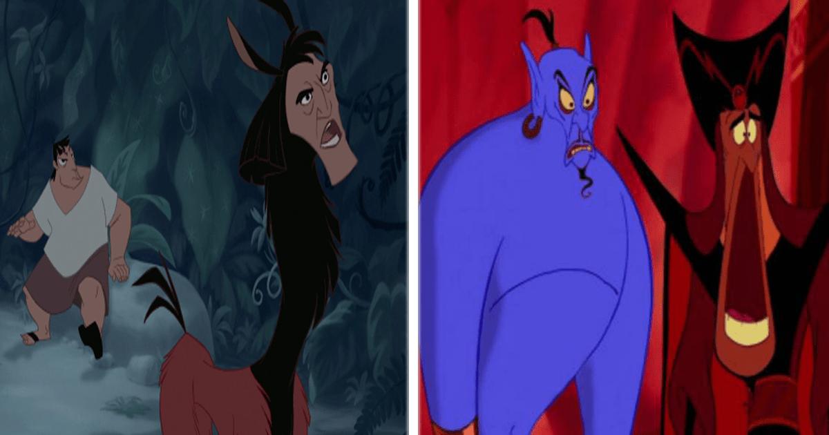 ¡Intercambio de rostros Disney! Así se ven los personajes con otras caras.