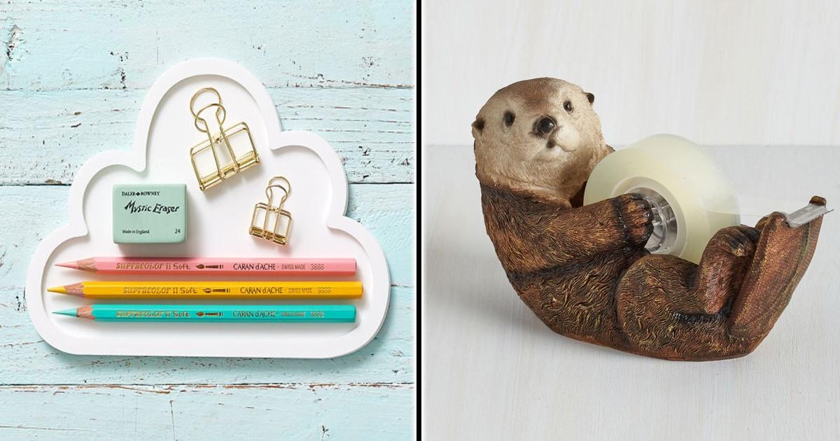 15 Cosas adorables que necesitas en tu oficina para tenerla organizada. ¡Lindo y organizado!