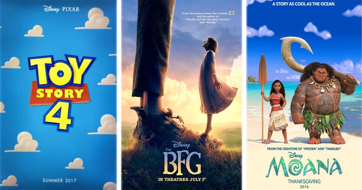15 Películas de Disney a estrenarse que todos esperamos de aquí al 2018.
