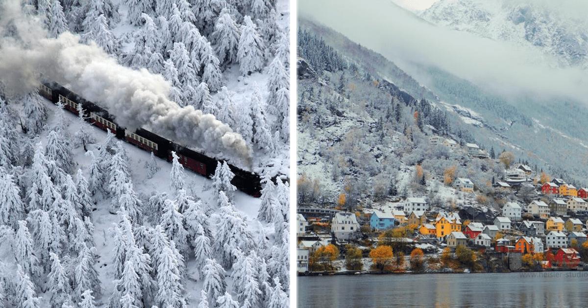¡Vamos a Europa en invierno! Así se ven estás hermosas ciudades.