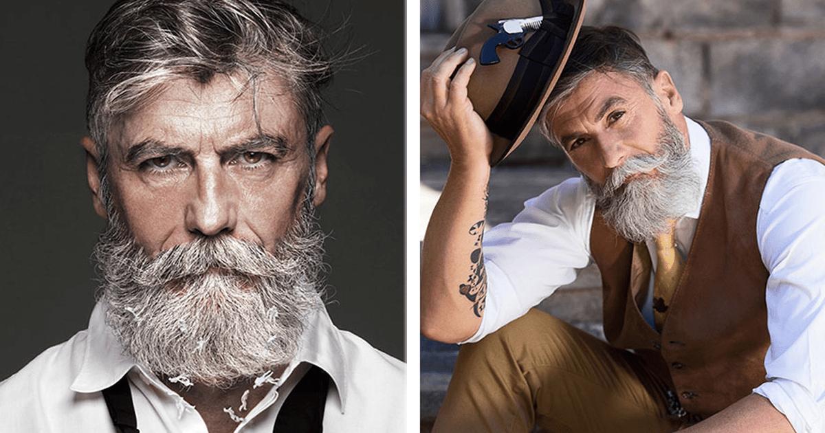 12 Hombres mayores super guapos que querrás como novios.