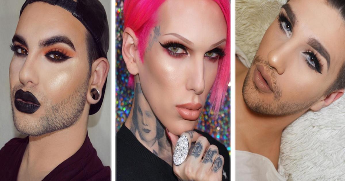 14 Hombres que se maquillan mucho mejor que cualquier mujer. ¡El #12 es hermoso!