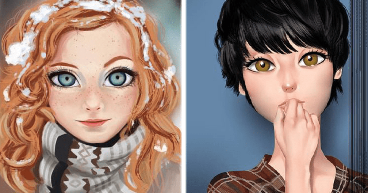 ¡Este artista ilustra de maneras espectacular a distintas personas!