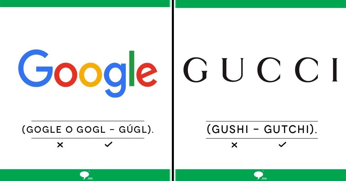 ¿Has pronunciado mal alguna de estas marcas? ¡Así es como se dice!