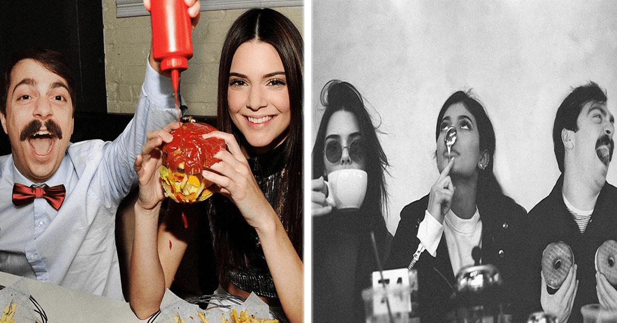 Este hombre se edita en fotos de Kendall Jenner y ¡es lo más divertido!