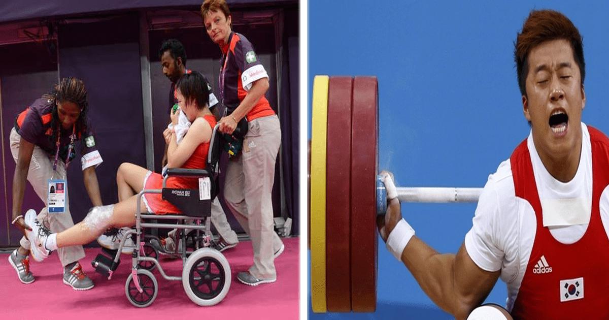 7 Terribles lesiones que han sucedido durante los Juegos Olímpicos.