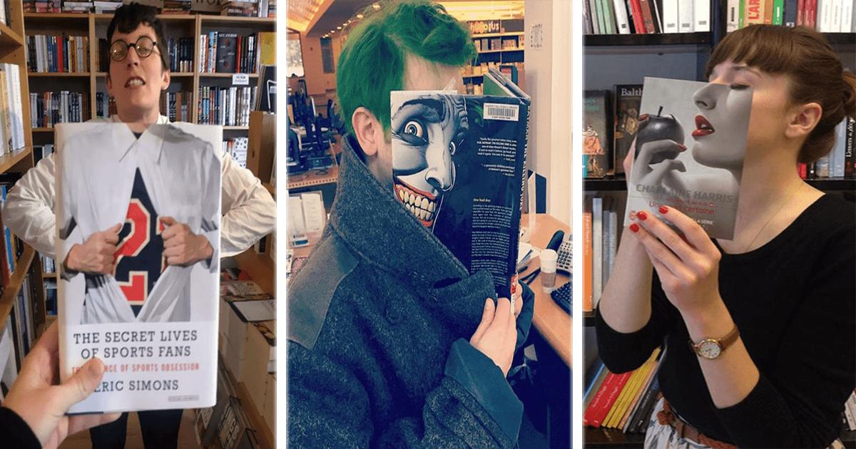 El increíble resultado entre portadas de libros y mucho ingenio, ¡míralas!