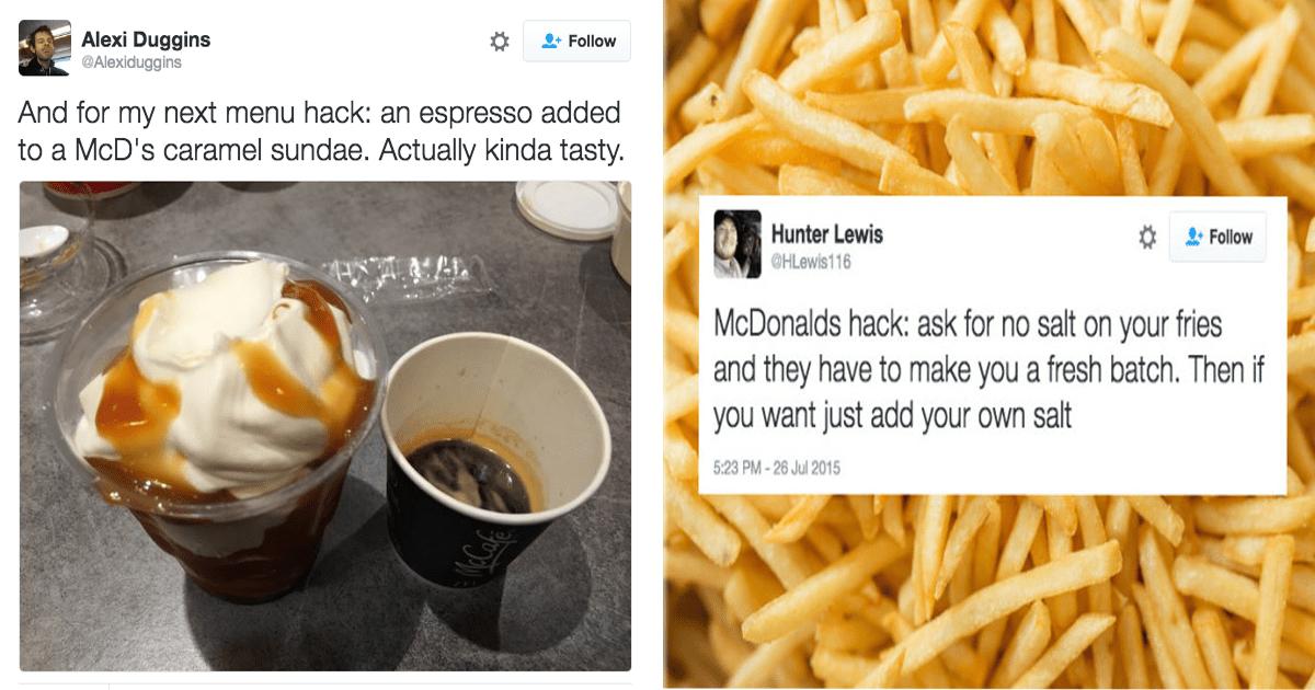 10 Secretos que los empleados de McDonald's jamás te dirían.