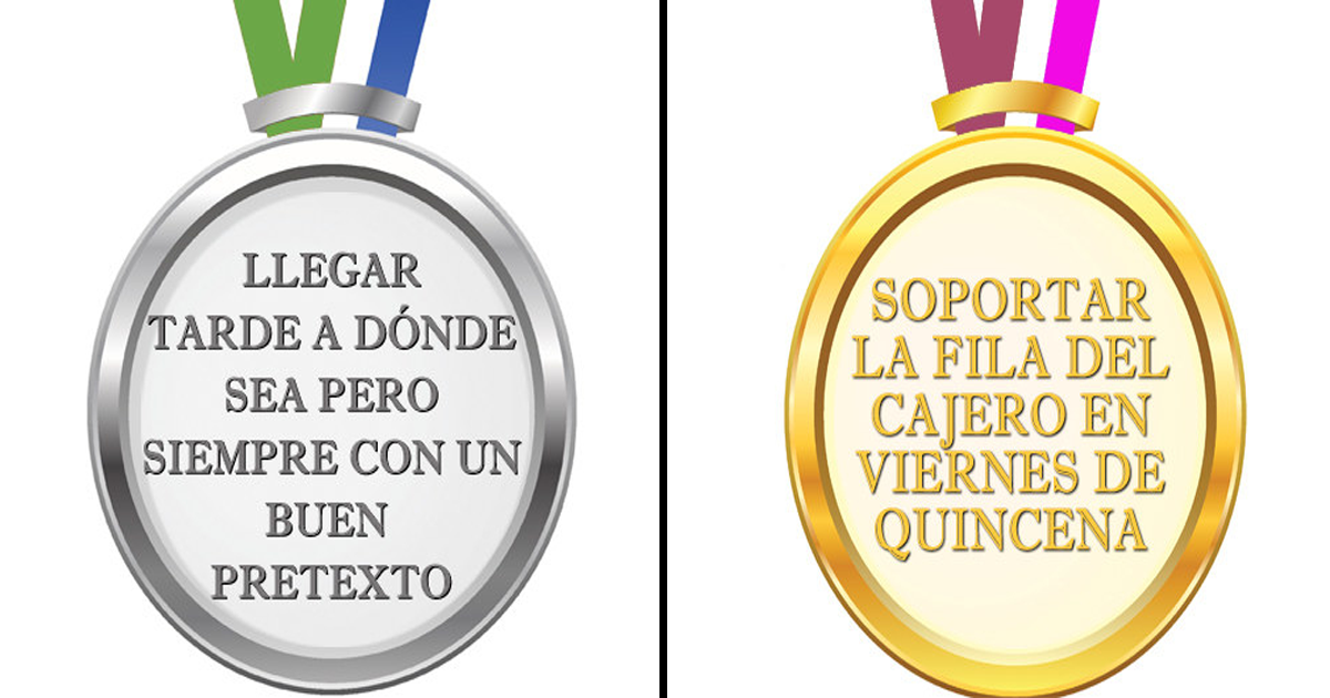 12 Medallas olímpicas que deberían otorgar a todos los mexicanos.