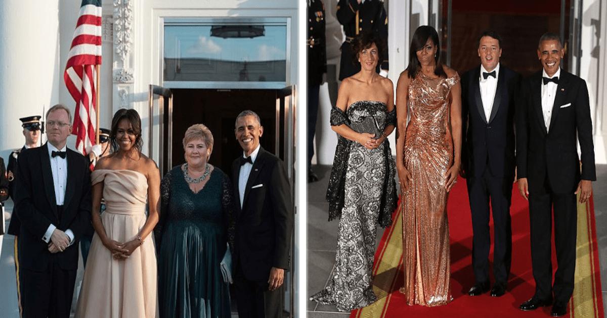 12 Ocasiones en las que Michelle Obama deslumbró con su elegancia y estilo.