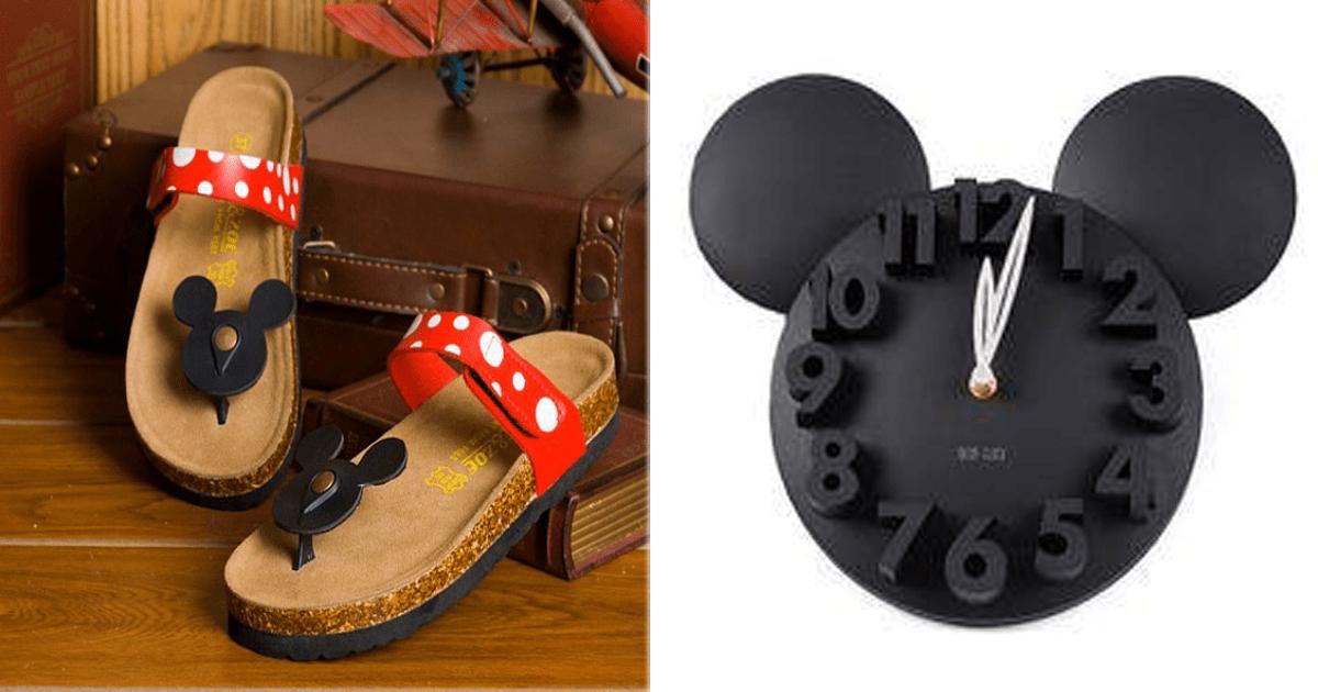 13 Increíbles objetos de Mickey Mouse que todo fan va a querer.